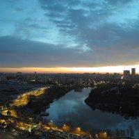Москва с 24 этажа.. :: Лена Доценко