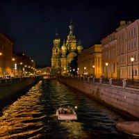Вид на Спас-на Крови с Итальянского моста :: Валентин Яруллин
