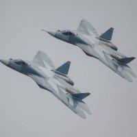 Т-50 проход парой :: Павел Myth Буканов