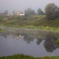 Утро на реке Тосна :: Денис Матвеев