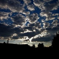 Вечернее небо :: Павел Зюзин