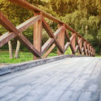 деревянный мост :: Дмитрий Строж