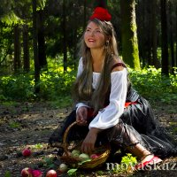 Красная шапочка. :: Виктория Гаман