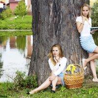 Лина и Алина :: Татьяна Романцова