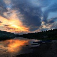 закат на Ветлуге :: Лидия Юсупова