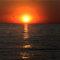 закат на Черном море :: Лидия Юсупова