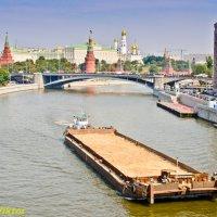 Москва-река. :: Виктор Евстратов