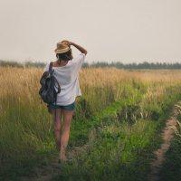 В поле :: Мария Фролова