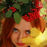 Девушка-осень) :: Alena Kramarenko