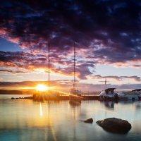 Озеро Исеть на закате :: Pavel Kravchenko