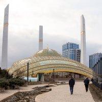 Мечеть имени Аймани Кадыровой в Аргуне (Чечня) :: Андрей Дурапов