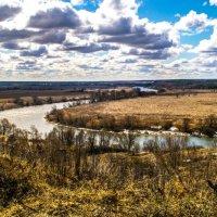 Весенний пейзаж :: Виктор Корочкин