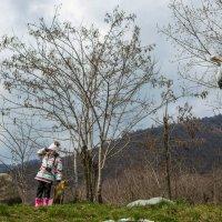 юный фотограф в лесу :: Эмиль Иманов