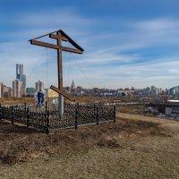 Поклонный крест на Поклонной горе :: Ирина Шарапова