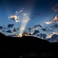 Закат в горах 4 :: Светлана SvetNika17