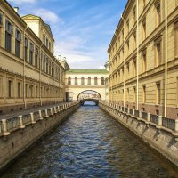 Зимняя канавка, Санкт-Петербург :: Максим Хрусталев