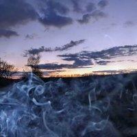 Дым из под копыт остался... :: Александр Резуненко