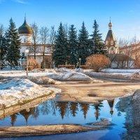 Церковь Михаила и Гавриила Архангелов :: Юлия Батурина