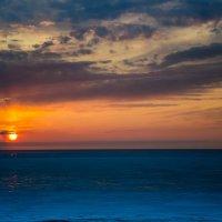 закат на Белом море :: Елена Кордумова