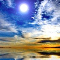 Краски неба. :: Штрек Надежда
