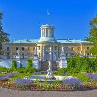 Вид из парка на здание усадьбы Архангельское :: Александра