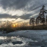 вечер... озеро... апрель... :: Pavel Kravchenko