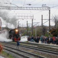 Прибытие поезда :: Александр Рыжов