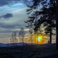 провожая солнце... :: Pavel Kravchenko