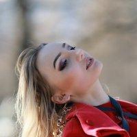 Блонди в лучах солнца на закате :: Дмитрий Соколов