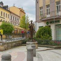 Памятник Томашу Гарику Массарику в Карловых Варах :: leo yagonen
