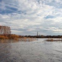 Разлив на реке Тезе :: Сергей Пиголкин