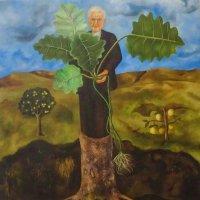 На выставке мексиканской художницы Фриды Кало. Портрет Лютера Бербанка :: татьяна