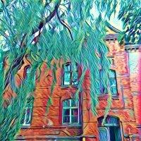 Старый немецкий дом на Литовском Валу. :: Дмитрий Олегович