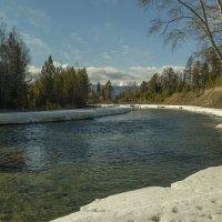 Горная река Ихэ - Ухгунь у деревни Ниловка. :: Rafael