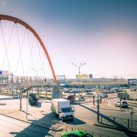 Переход на Таллинском шоссе Санкт-Петербурга :: Роман