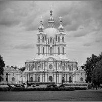 Смольный собор. :: Николай Панов