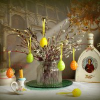 Светлый праздник Вербное Воскресение :: Маргарита Епишина