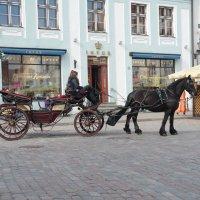 """""""Такси"""" на Ратушной площади :: Stas Hodalev"""