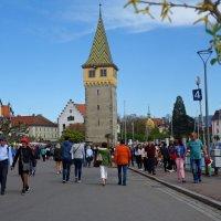 Линдау (Lindau) — один из красивейших городков на берегу Боденского озера :: Galina Dzubina