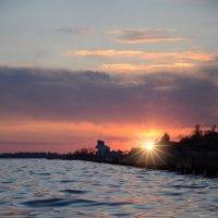 Морской закат :: Александр Довгий