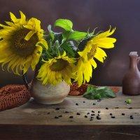 Букет,семена и продукт отжима...)) :: Ида Слизких