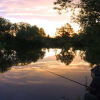 Вечерняя рыбалка. :: Штрек Надежда