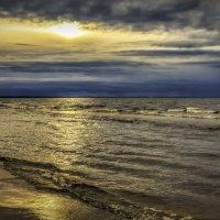 закат на финском заливе :: Георгий А