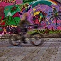 Призрак велосипедиста :: Alla Shapochnik