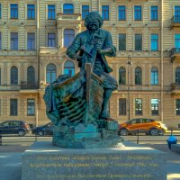 "Памятник Петру - ""Царь-плотник"" :: Elena Izotova"