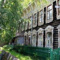 Томские дворики :: владимир тимошенко