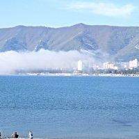 Туман отправился в обратный путь :: Валерий Дворников
