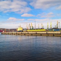 Порт Мурманска :: Ruslan