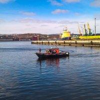 В порту Мурманска :: Ruslan