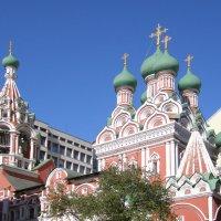 Церковь Троицы Живоначальной :: Анна Воробьева